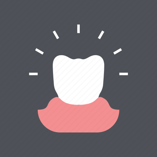 dental, dentist, gum, healthy, medical, molar, tooth icon