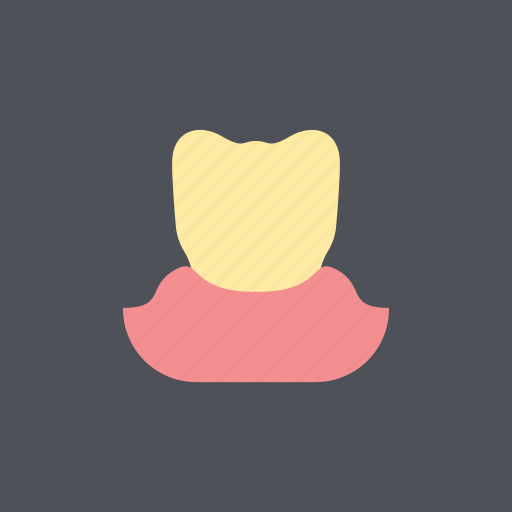 dental, dentist, enamel, health, medical, whitening, yellow teeth icon