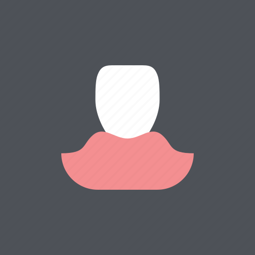 dental, dentist, gum, health, incisor, medical, tooth icon