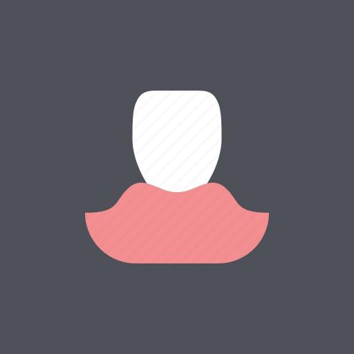 dental, dentist, gum, health, incisor, medical, tooth icon