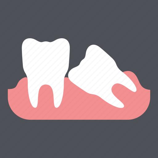dental, dentist, health, medical, tooth, toothache, wisdom teeth icon
