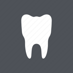 dental, dentist, health, medical, molar, tooth, white icon