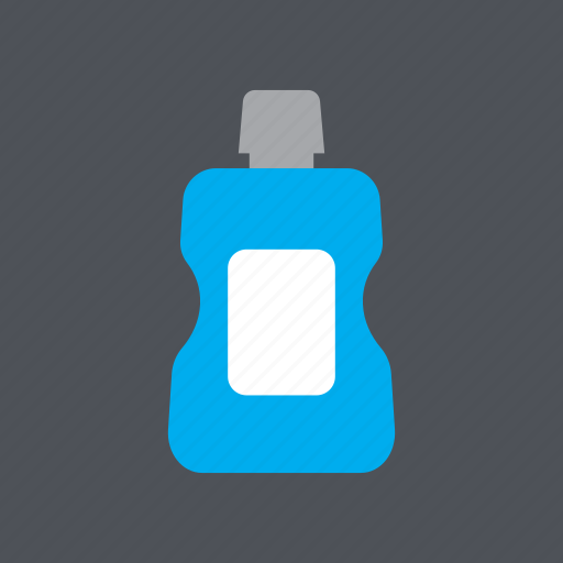 bottle, dental, dentist, health, medical, mouthwash, tooth icon