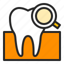 check, dentistry, examination, healthcare, orthodontics, teeth, tooth icon