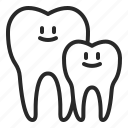 dental, dentistry, family, healthcare, insurance, orthodontics, tooth icon