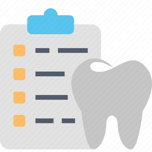 care, dental, dentistry, health, list, services, tooth icon