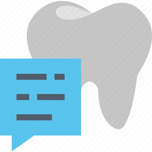 customer, help, information, question, service, support, tooth icon