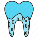 care, caries, decayed tooth, dental, root, tooth