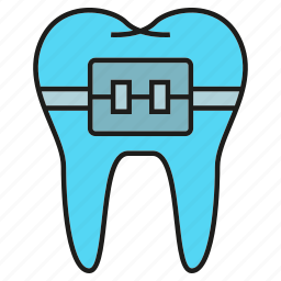 care, dental, stomatology, tooth icon