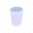 blog, cartoon, object, site, style, trash, web icon
