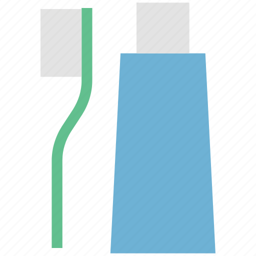 brush, dental, hygiene, tooth paste and brush, toothbrush, toothpaste, tube icon