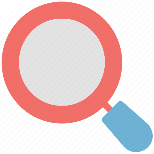 inspection, magnifier, magnifying, search, searching tool icon