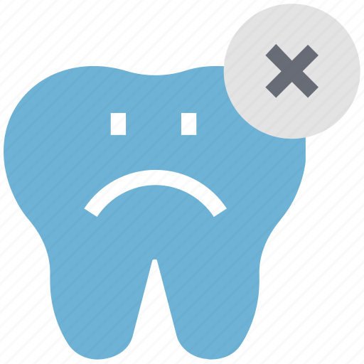 cross sign, delete, dental, dental hygienist, dentist, remove dental, stomatology icon