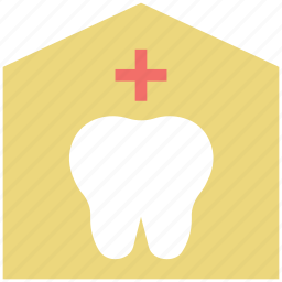 building, care center, dental care, dental hospital, dentist, hospital, teeth icon