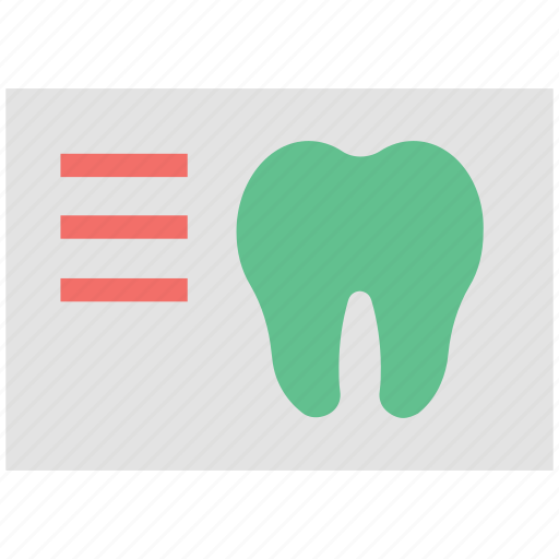 dental care, dental prescription, dental report, dental treatment, medical report, tooth icon