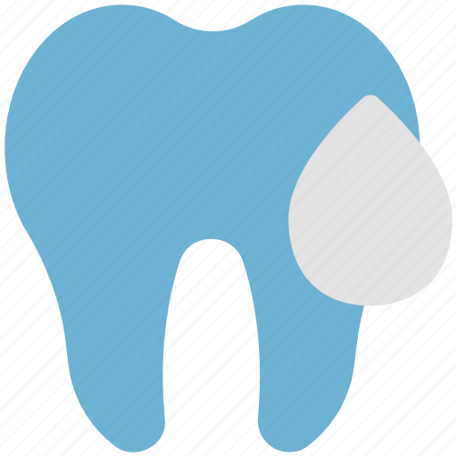dental, dentist, mouth, teeth, tooth, water drop icon