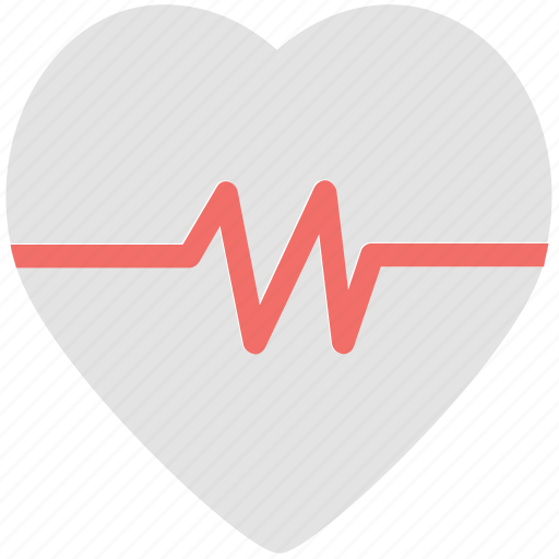 electrocardiogram, heart rate, heartbeat, lifeline, pulsation, pulse rate icon