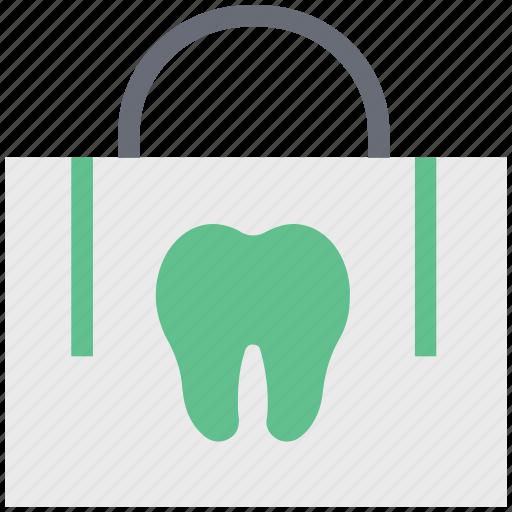 dentist bag, dentist kit, first aid kit, kit, pharmacy bag, pharmacy kit icon