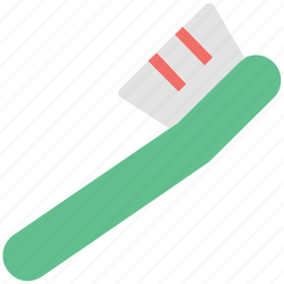 cleaning tool, cleans, dental, dental care, hygiene, tooth brush, toothbrush icon