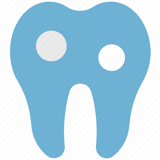 damage teeth, dental pain, infected teeth, molar, stomatology icon