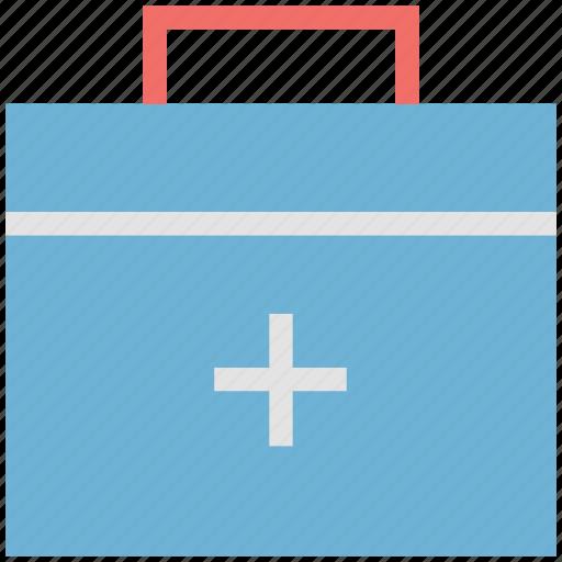 dentist bag, dentist kit, first aid kit, health, kit, medical bag, medicine, pharmacy kit icon