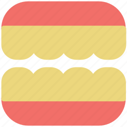 braces, brackets, dental braces, stomatology, teeth braces, teeth support icon