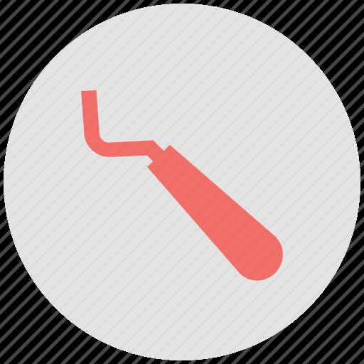 amalgam instrument, dental equipment, dental explorer icon