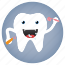 brush, dental, dentist, tooth icon