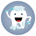 cleaning, dental, dentist, tooth icon