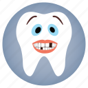cute, dental, dentist, tooth icon