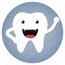 dental, dentist, evil, tooth icon