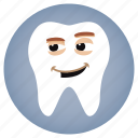 dental, dentist, fake, smile, tooth icon