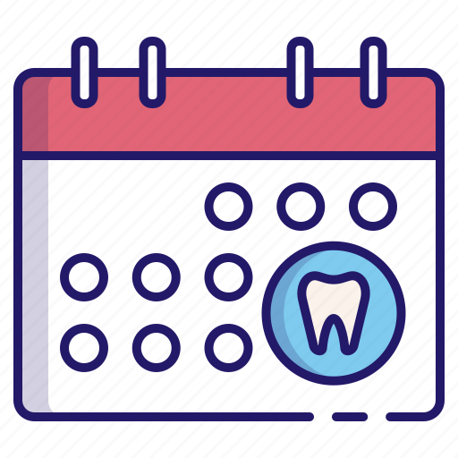 appointment, dental, dental appointment, dentistry, medical, schedule, tooth icon