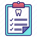 checkup, dental, dentistry, healthcare, medical, mouth icon