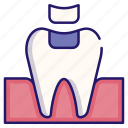 dental, dental fillings, dentistry, healthcare, medical, mouth, tooth icon