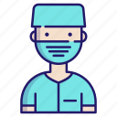 clinic, dentist, dentistry, doctor, healthcare, occupation, orthodontic icon