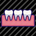 clinic, dental, dentistry, hygiene, mouth, oral, teeth icon
