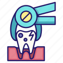 dental, dentistry, extraction, tooth, tooth extraction, toothache icon