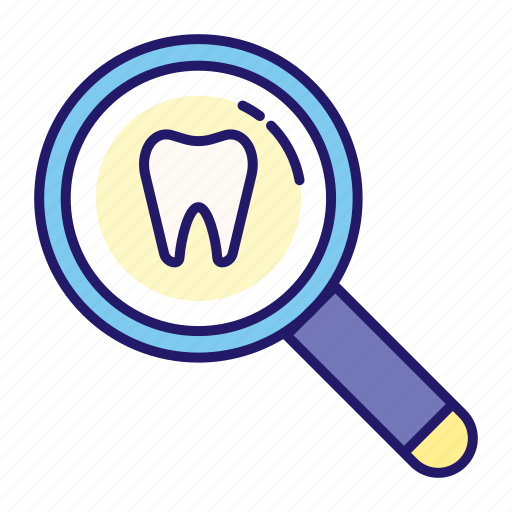 clinic, dental, dentistry, healthcare, inspection, tooth, tooth inspection icon