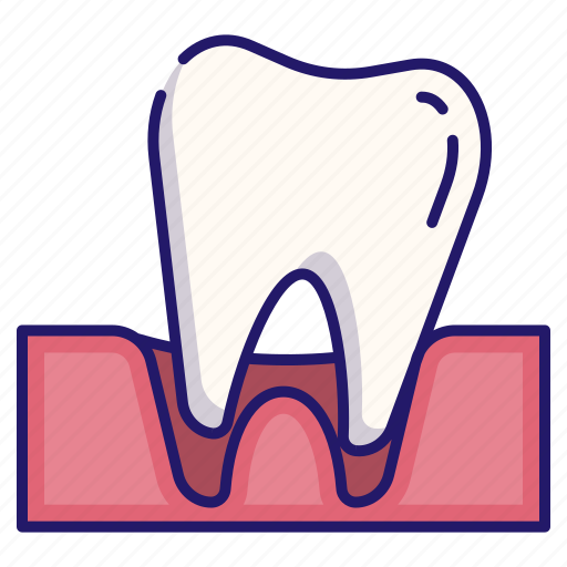 dental, dentistry, loose, medical, tooth, tooth loose icon