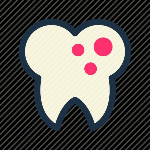dental, dentist, germ, teeth, tooth icon