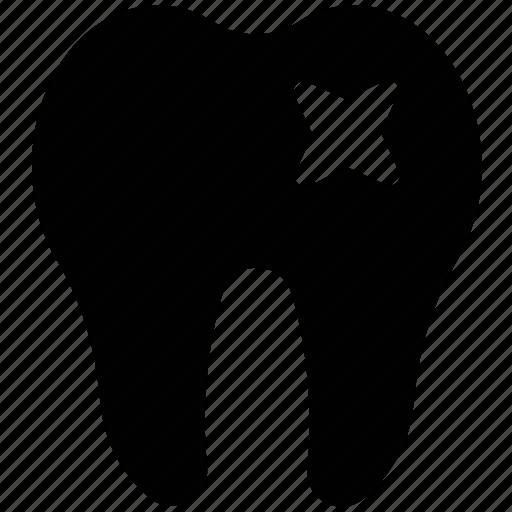 Dental care, dental disease, dental filling, dental pain, protection, tooth disease icon - Download on Iconfinder