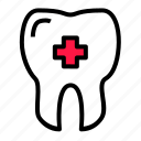 clinic, dental, dentis, medic, mouth, tooth icon