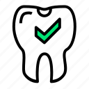 dentist, healthy, medical, nice, teeth, tooth icon