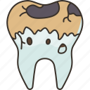 decayed, caries, tooth, oral, problem