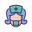 clinic, dental, dentist, health, hospital, nurse icon