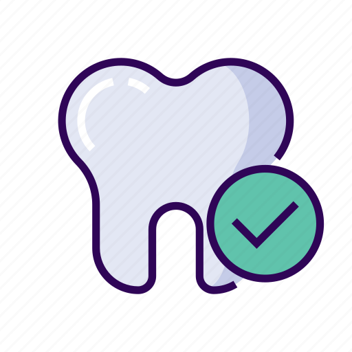 cavity, check, clean, dentist, health, oral icon