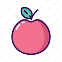 apple, dentist, fresh, fruit, healthy icon