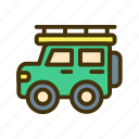 car, desert, offroad, transport, transportation, truck, vehicle icon