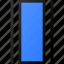 distribute, horizontal, align